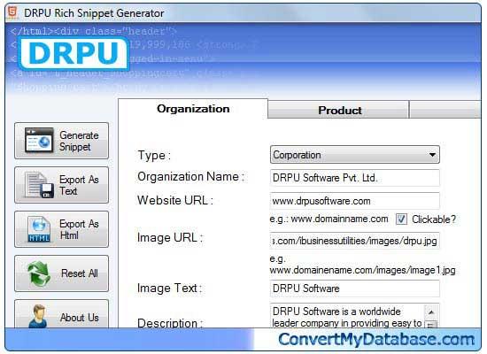 Windows 7 Microdata Generator Tool 2.0.1.5 full